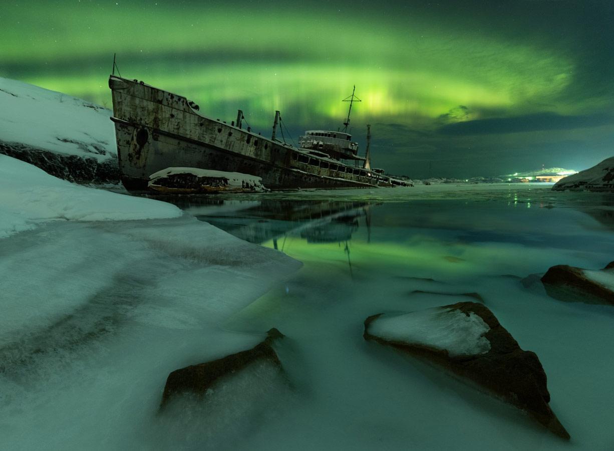 Забытый корабль, © Александр Меркушев