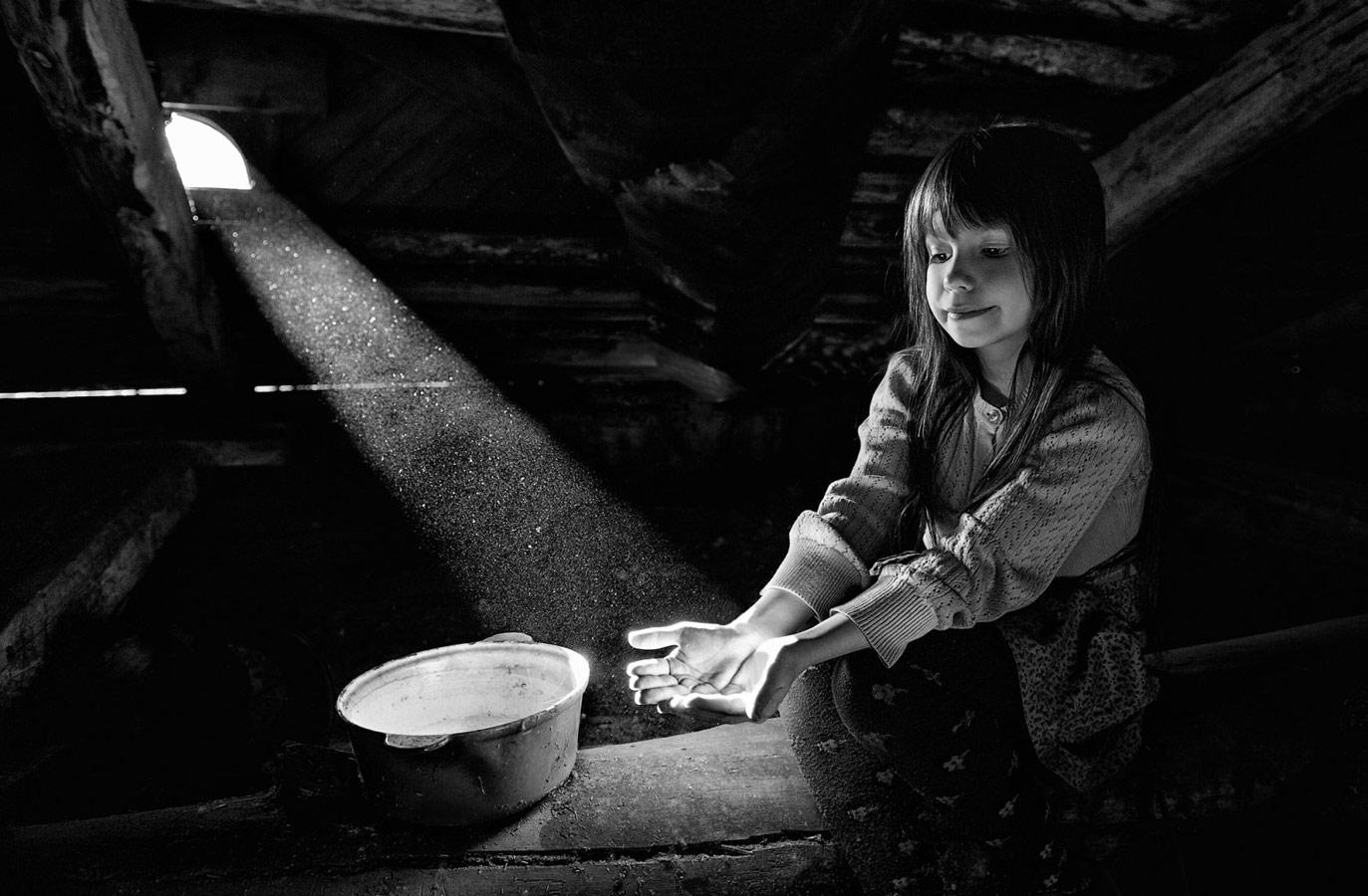 Я соберу в ладошки свет, © Юлия Попова
