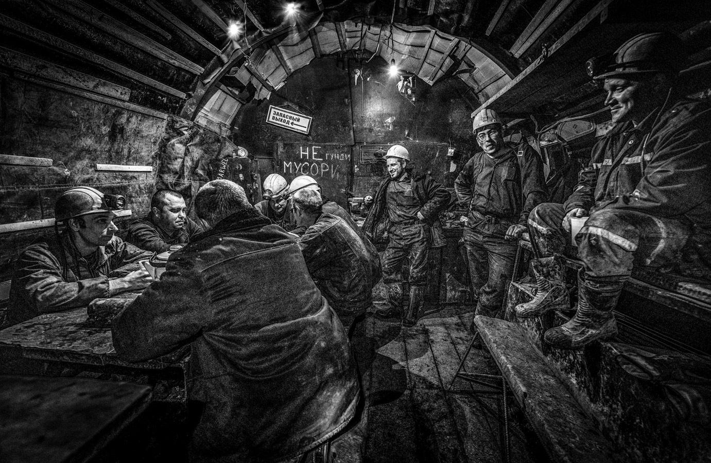 Шахтёрские будни, © Сергей Москвин