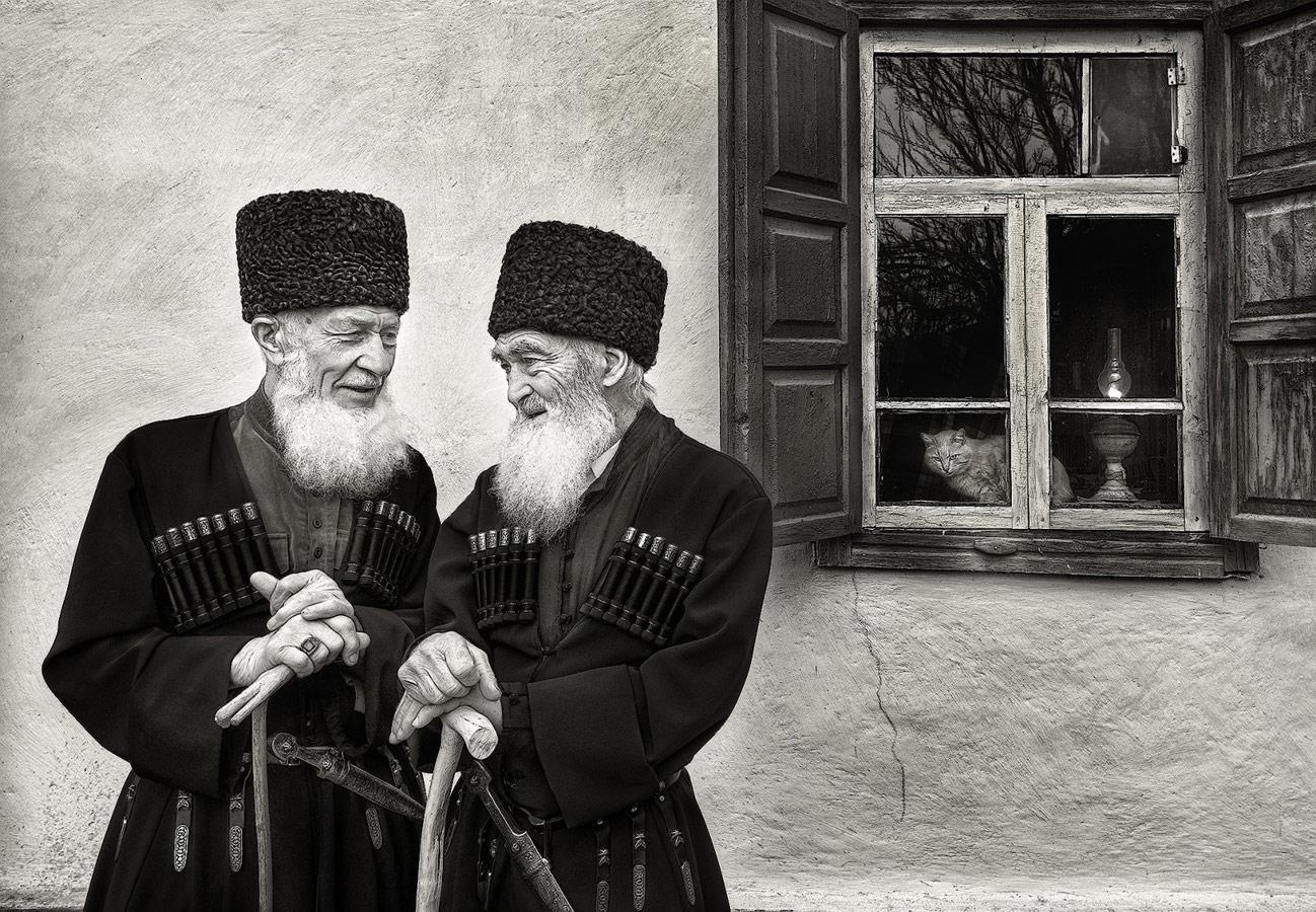 Старейшины аула Бесленей, © Андрей Смольников