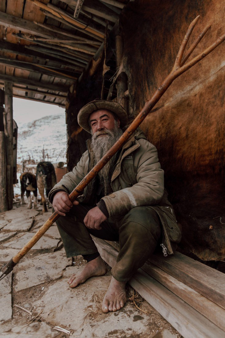 Портрет горца Георгия Калаева, © Заур Тедеев