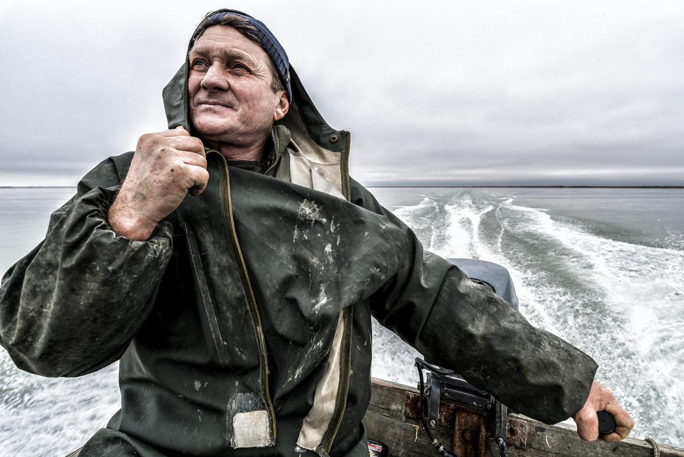 Рыбак, © Владимир Севриновский