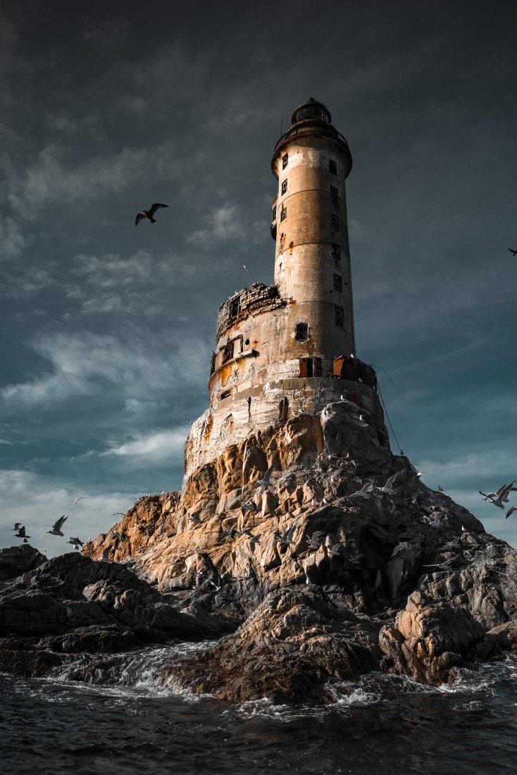 Непреступный маяк Анива, © Евгения Фенько