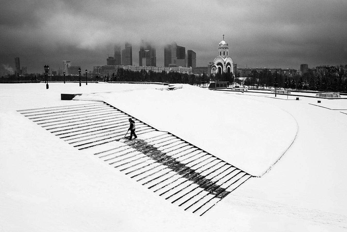 Зимняя Москва, © Виталий Новиков