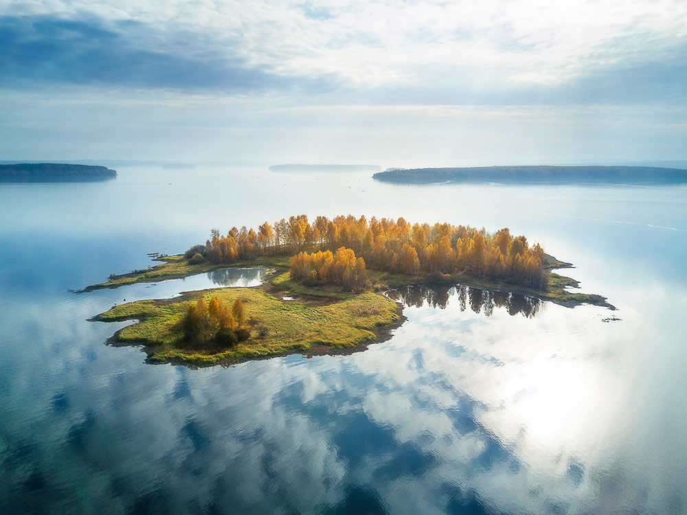 Парящий остров, © Василий Яковлев, Фотоконкурс «Стихии науки»