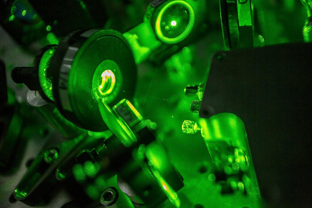 Фемтосекундный лазер, © Пелевин Евгений, Фотоконкурс «Стихии науки»