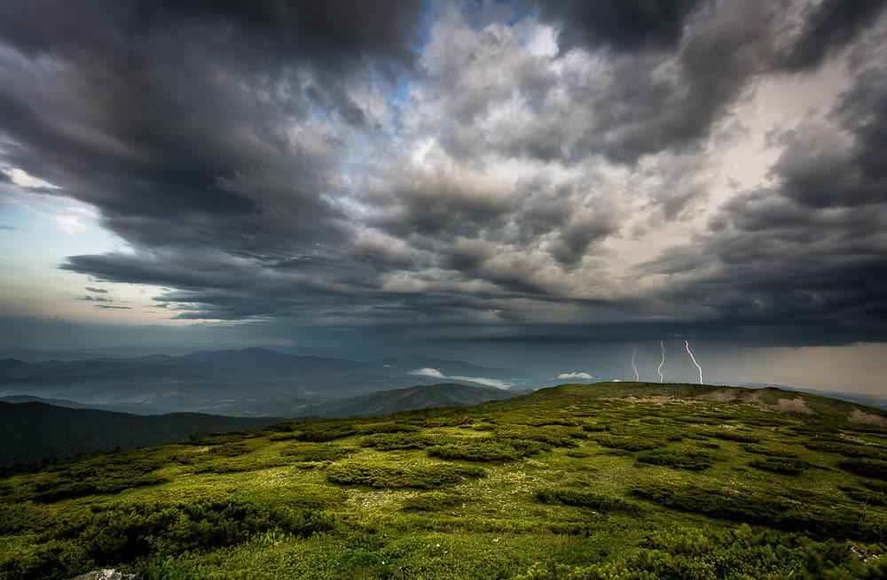 Между землёй и небом, © Евгений Табалыкин, Фотоконкурс «Стихии науки»