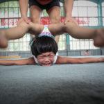 Гимнастическая мечта близнецов, © Пэн Юань, Китай, 3 место, Фотоконкурс Siena