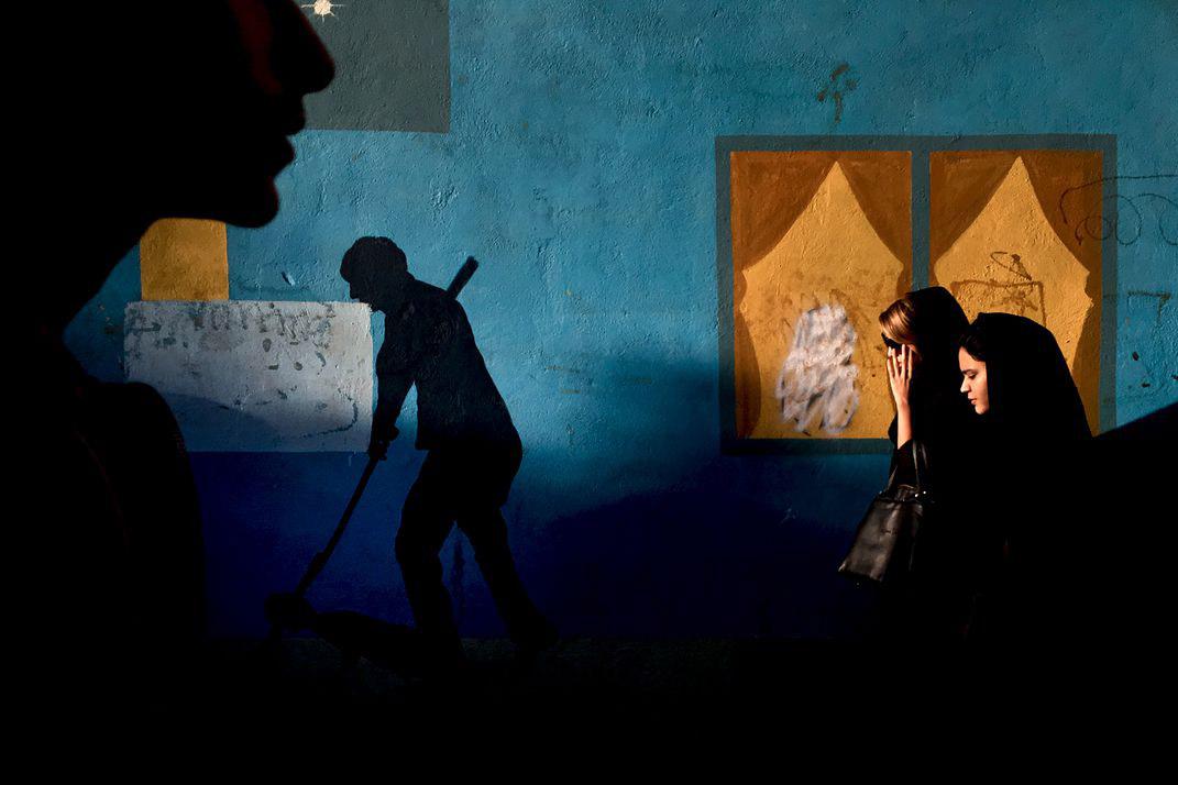 Теневая подсветка, © Мохаммад Мохсенифар / Mohammad Mohsenifar, Победитель категории «Мобильная фотография», Фотоконкурс Smithsonian