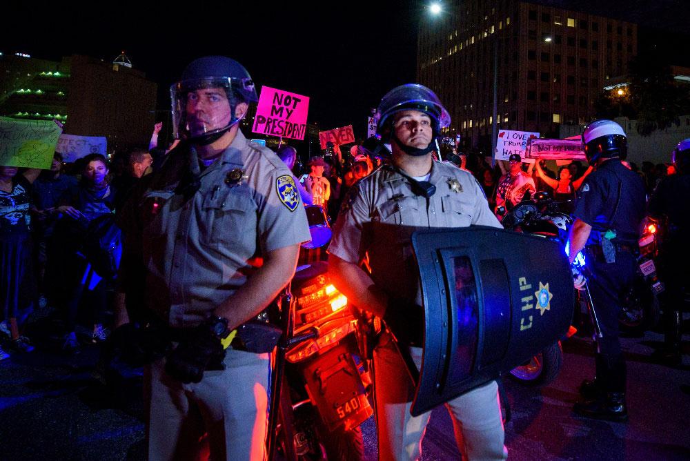 Американские беспорядки, © Ронен Тивони, США, Фотоконкурс «Состояние мира» от PX3