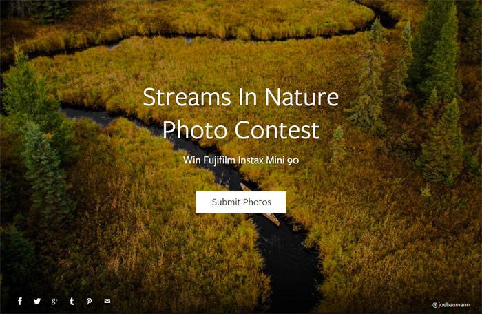 Фотоконкурс «Ручьи в природе» — Streams In Nature