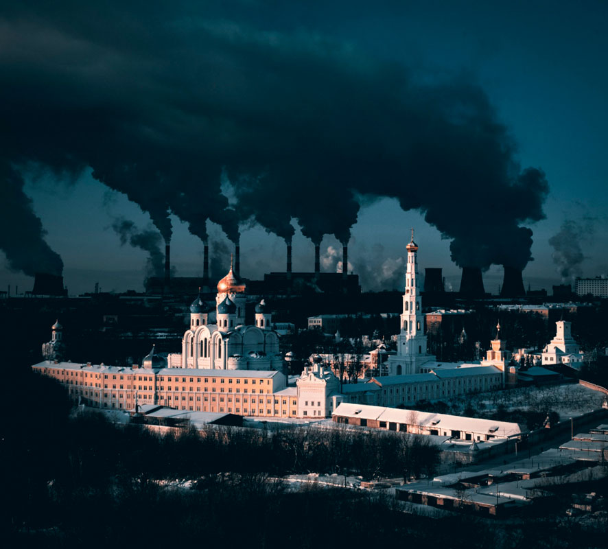 Сергей Полетаев, Метафорическое высказывание о городе и зиме