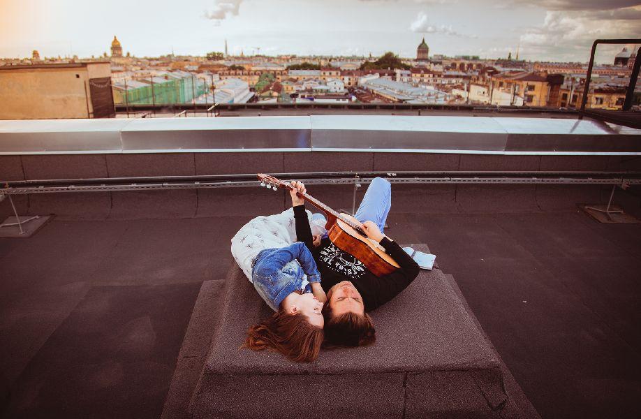 3е место, Тише-тише, сидим на крыше