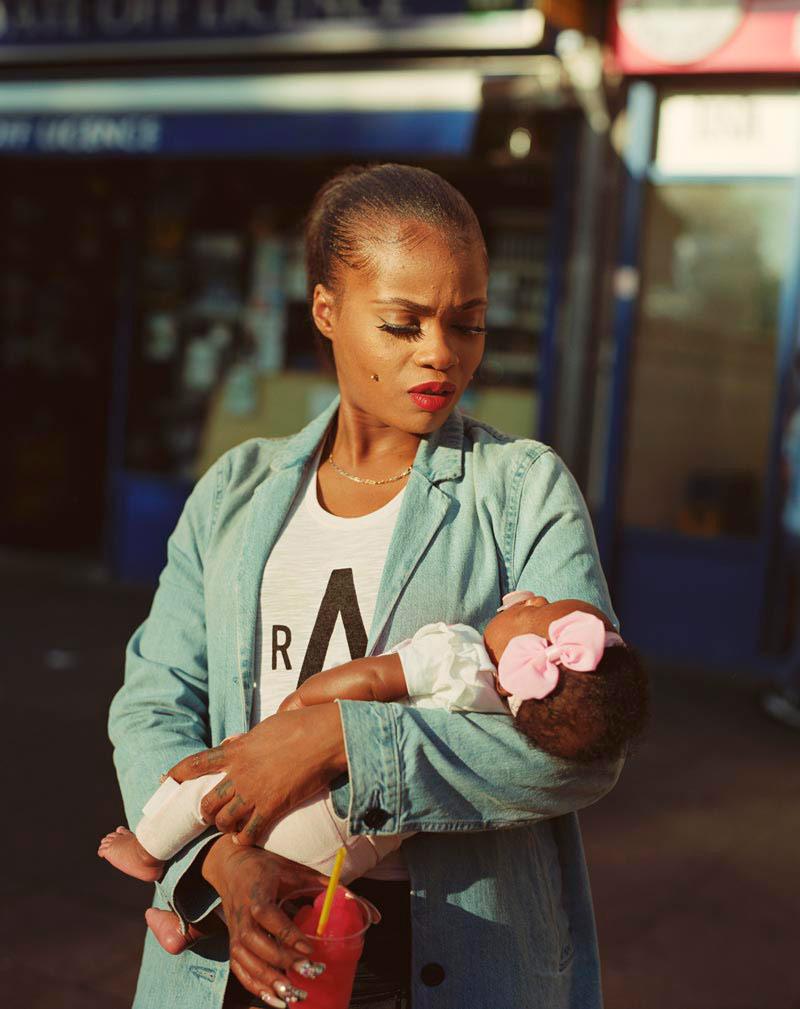 Сибил Макэдди с дочерью Лулу, © Энда Боу, Второе место, Конкурс портретной фотографии Тейлора Вессинга
