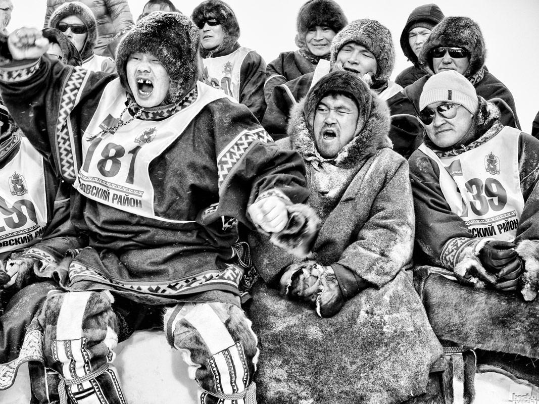 Болельщики национальной борьбы «Таро'ма», © Камиль Нуреев / Новый Уренгой, Фотоконкурс The Best of Russia 2017