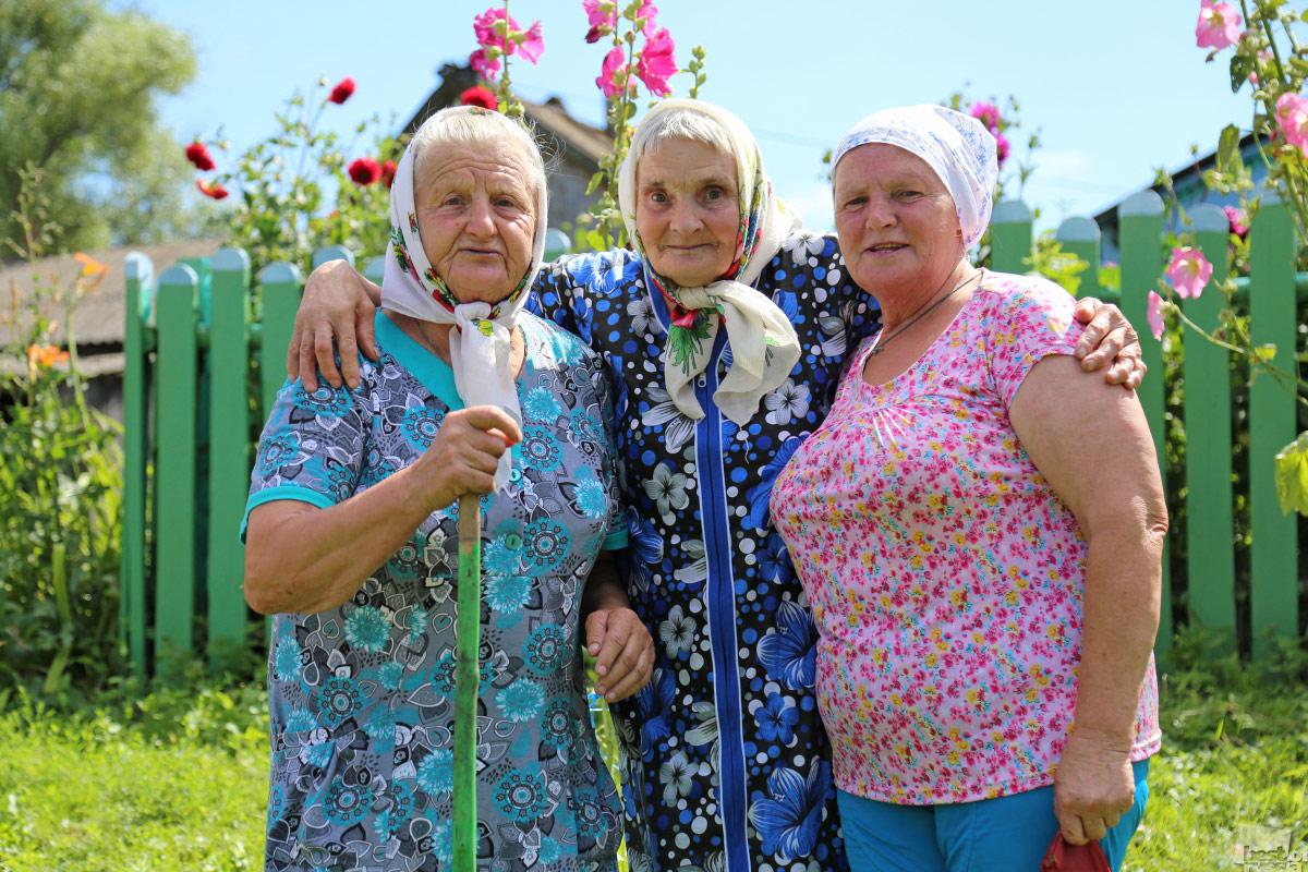 Чернодьевские бабушки, © Светлана Коренькова / Орел, Фотоконкурс The Best of Russia 2017