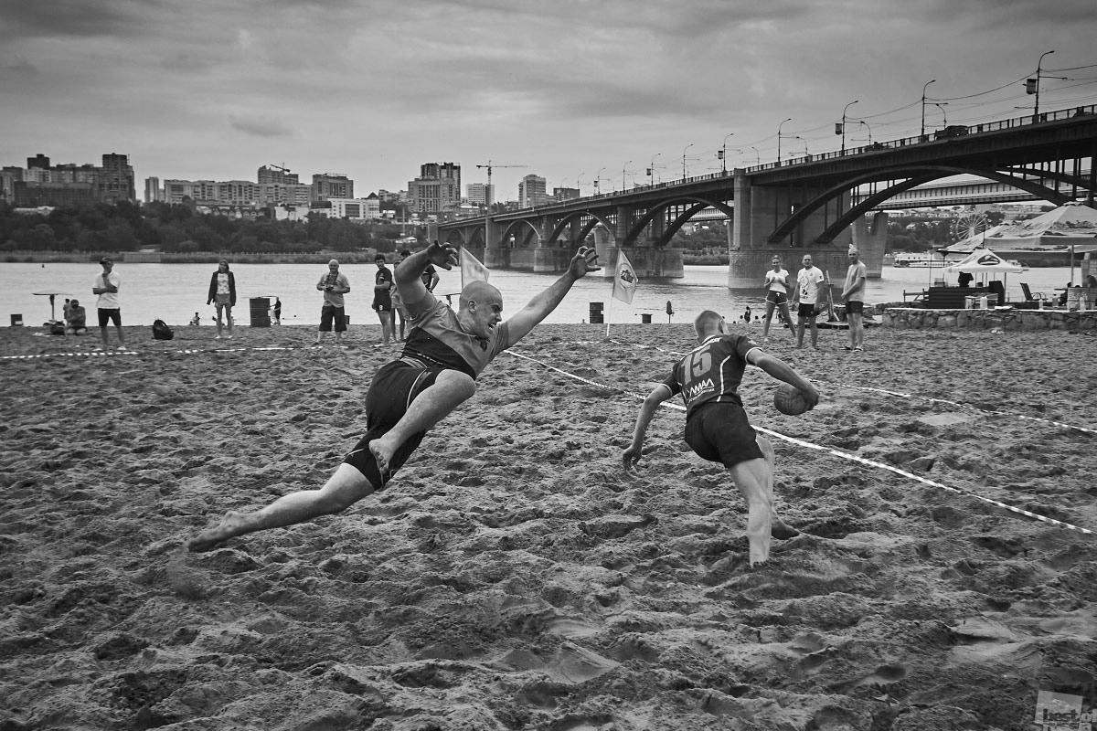 Пляжное регби, © Антон Мухаметчин / Новосибирск, Фотоконкурс The Best of Russia 2017
