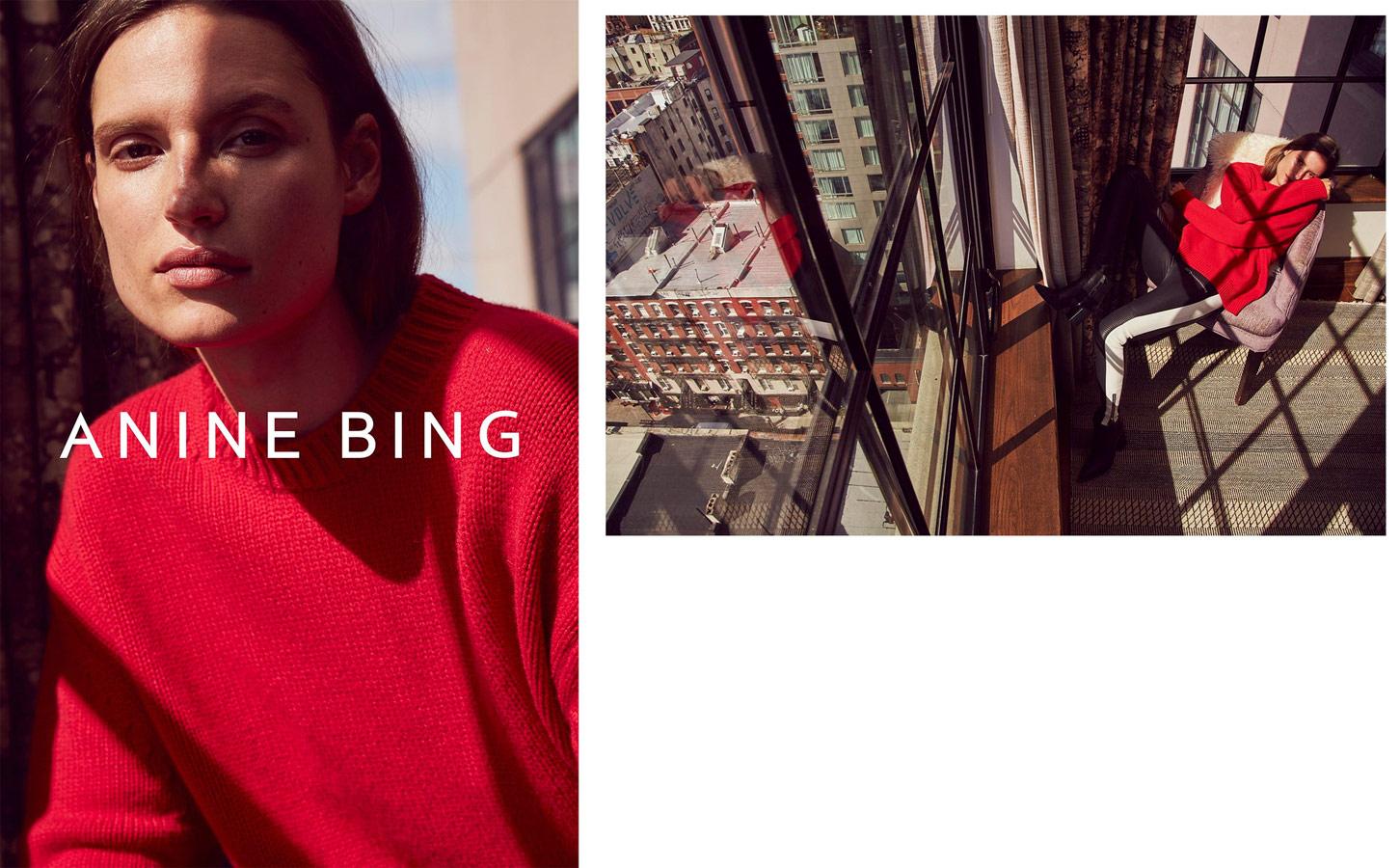 Рекламная кампания Anine Bing, © Бенджо Арвас, Лос-Анджелес, США, Финалист категории «Реклама», «Взгляд» — фотоконкурс на тему «Мода» | PDN The Look