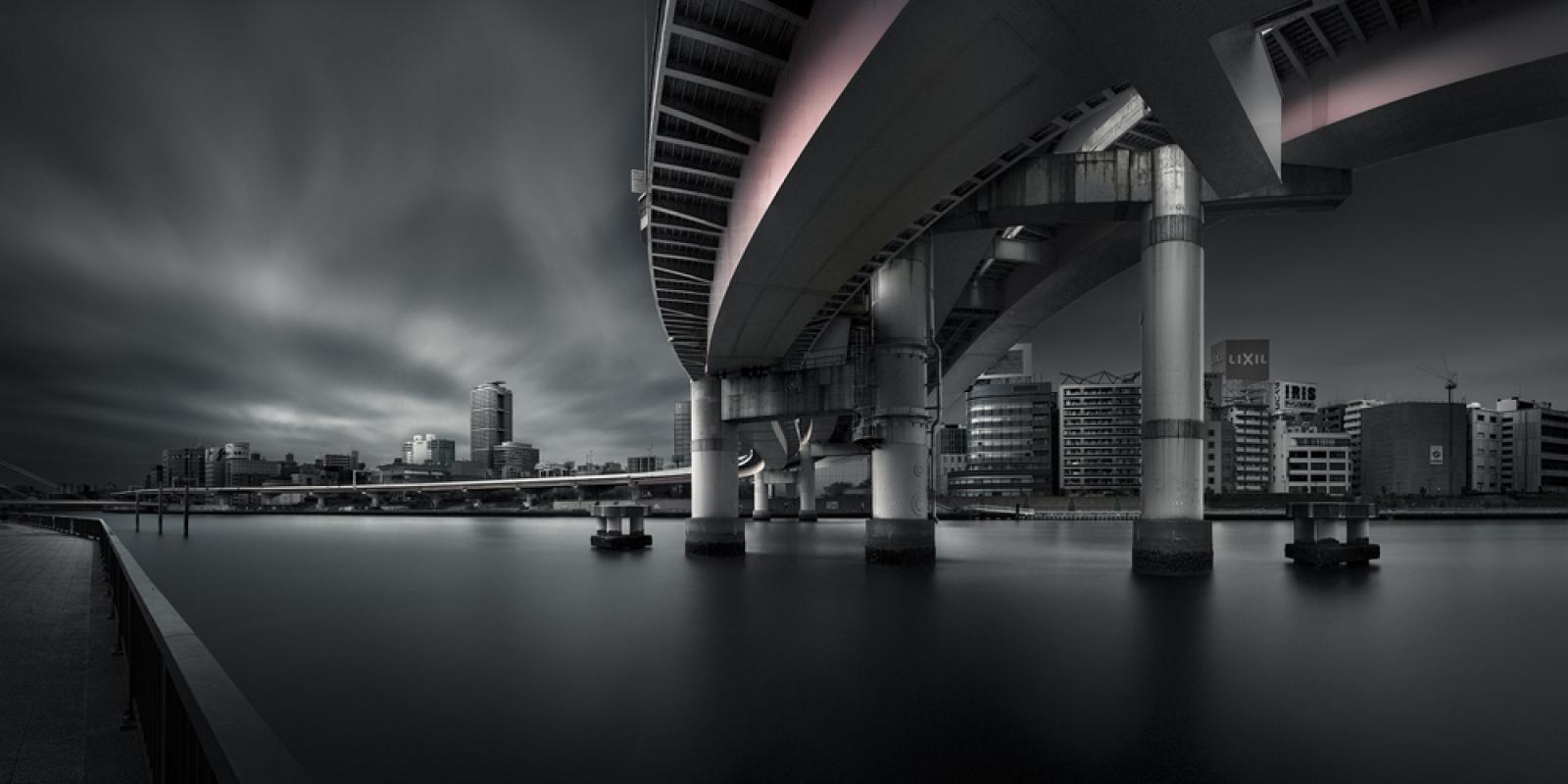 Город соединения, © Йошихико Вада, Япония, 1-е место в категории Архитектура, любитель, Открытие года, Токийский фотоконкурс 2018 — TIFA
