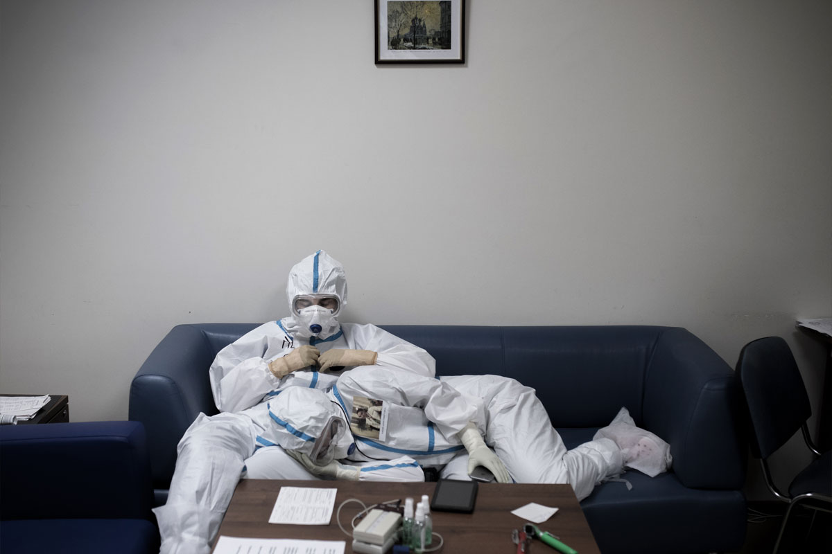 """Москва времен коронавируса"". Питалев Илья (Москва)"