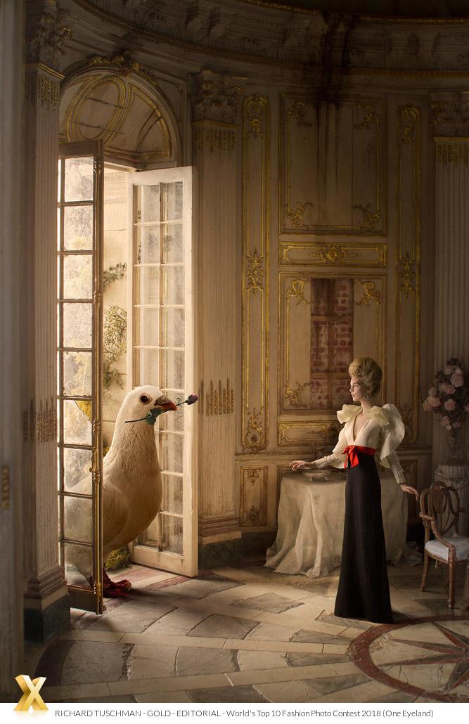 Кукольный домик: Gucci, © Ричард Тушман, Золото категории «Редакционная», Фотоконкурс «10 лучших мировых фотографов моды» — World's Top 10 Fashion Photographers