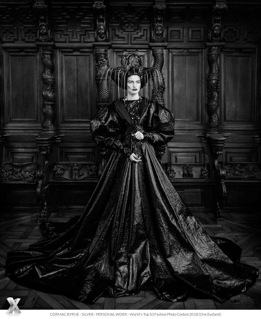Королева Екатерина, © Кормак Бирн, Серебро категории «Персональная работа», Фотоконкурс «10 лучших мировых фотографов моды» — World's Top 10 Fashion Photographers