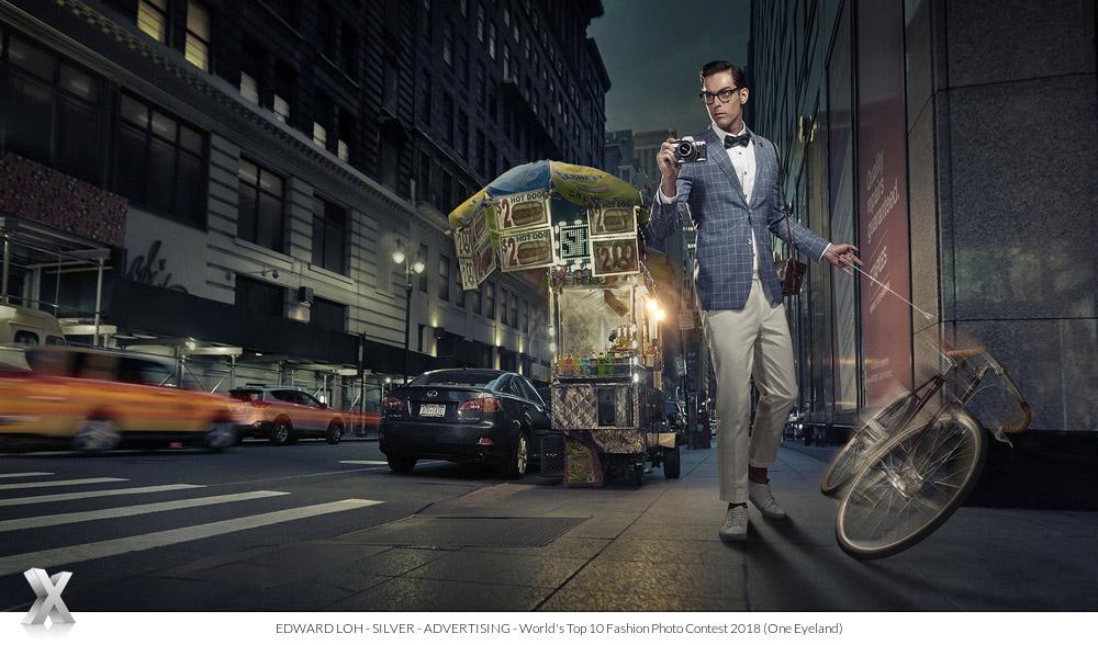 Benjamin Barker, © Эдвард Лох, Серебро категории «Реклама», Фотоконкурс «10 лучших мировых фотографов моды» — World's Top 10 Fashion Photographers