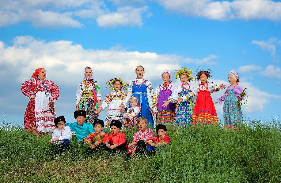 2е место, Смешанный фольклорный коллектив Светёлка