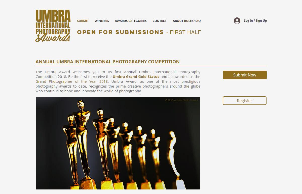 Конкурс фотографии Umbra