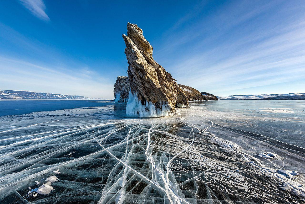 Остров Огой, пролив Малое Море на Байкале, © Сергей Пестерев, Фотоконкурс «Вики любит Землю»