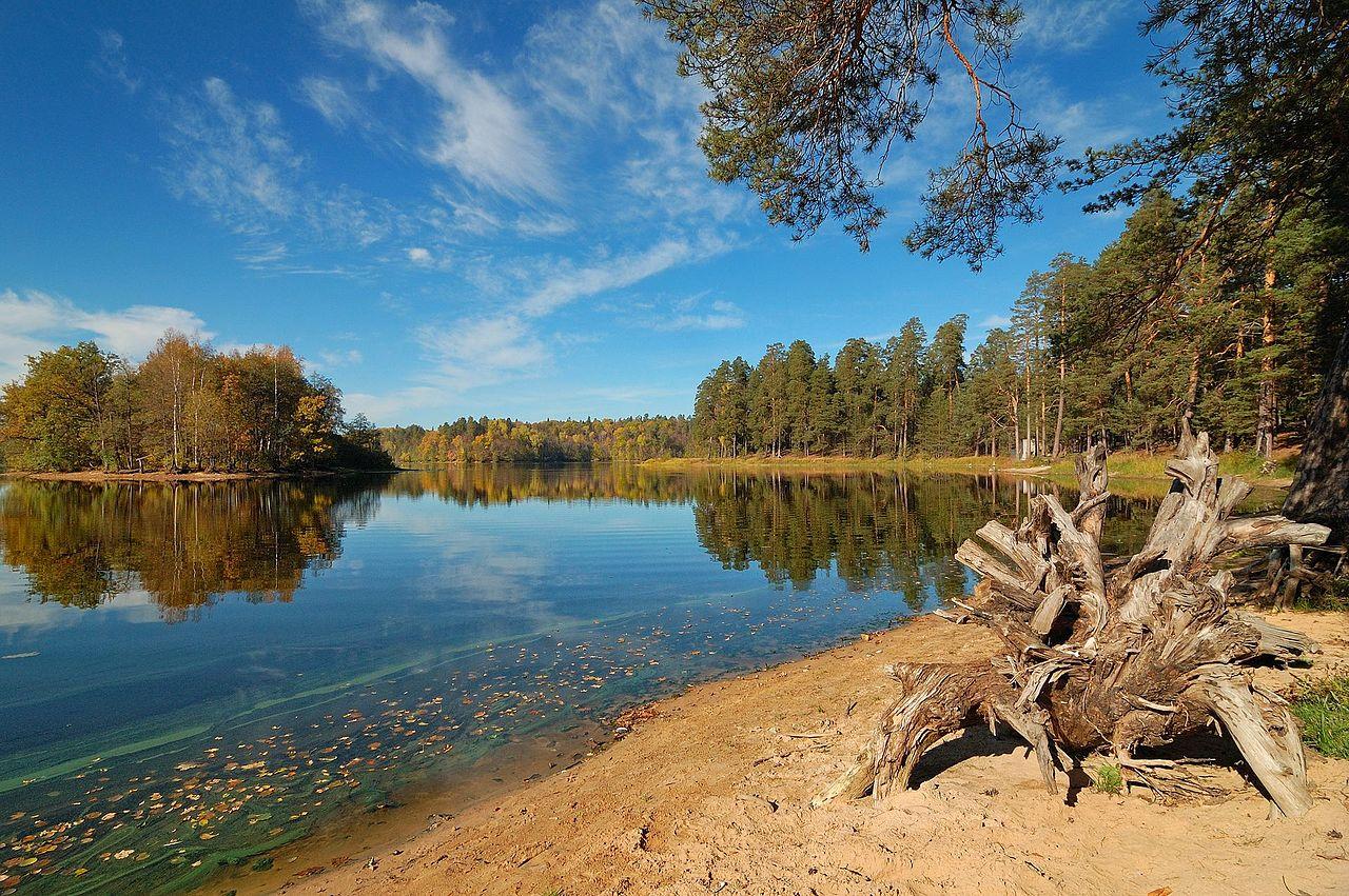 Пустынские озера, Нижегородская область, © Gorlanov, Фотоконкурс «Вики любит Землю»