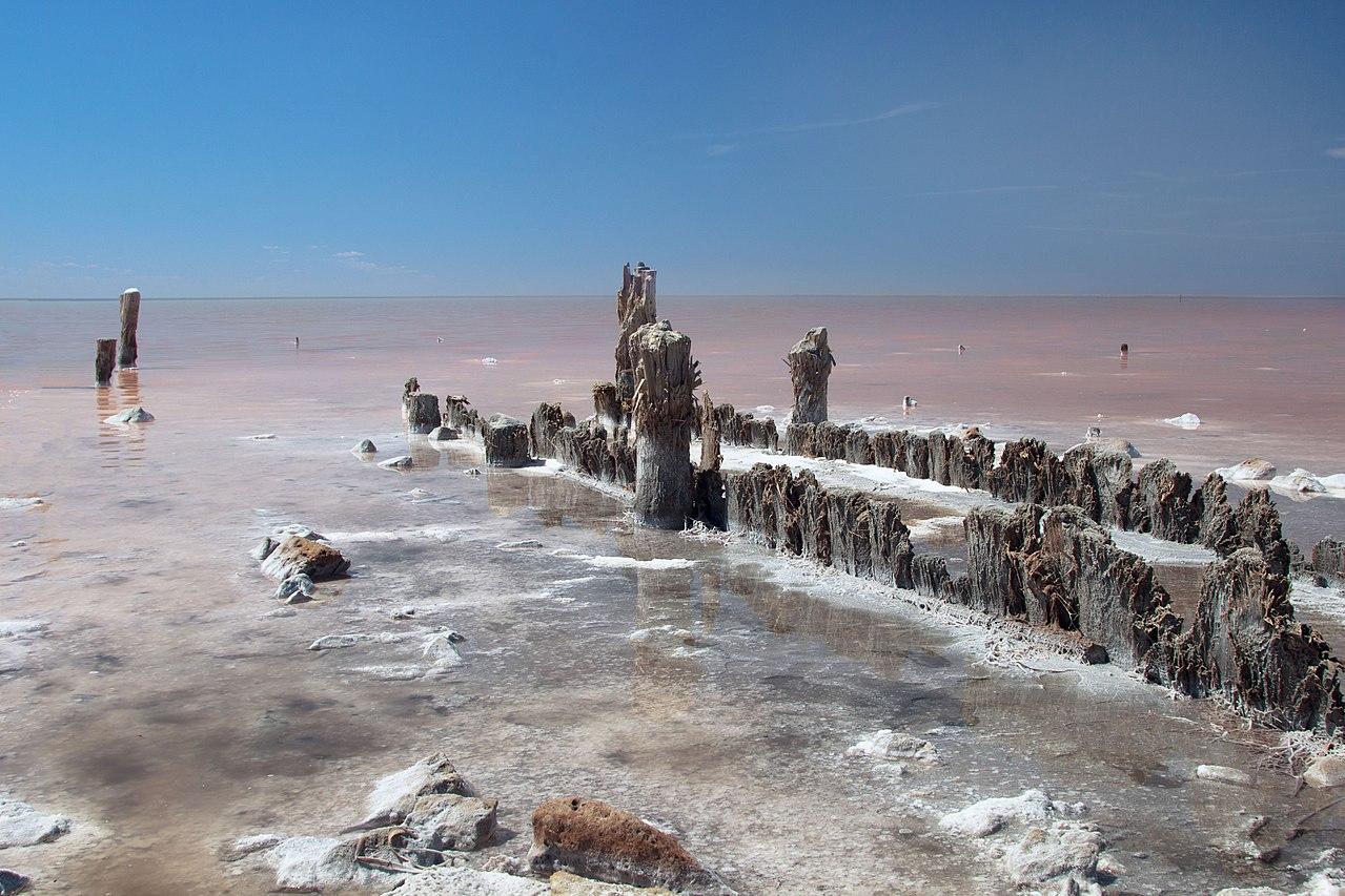 Солёное озеро Эльтон, Волгоградская область, © Sage Ekchard, Фотоконкурс «Вики любит Землю»