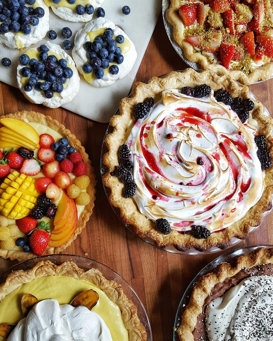 Пироги, © Джефф Тафойя, Анахайм, США, Первое место в категории «Социальные сети» : любитель, Конкурс фотографий еды «Вкус» — Taste