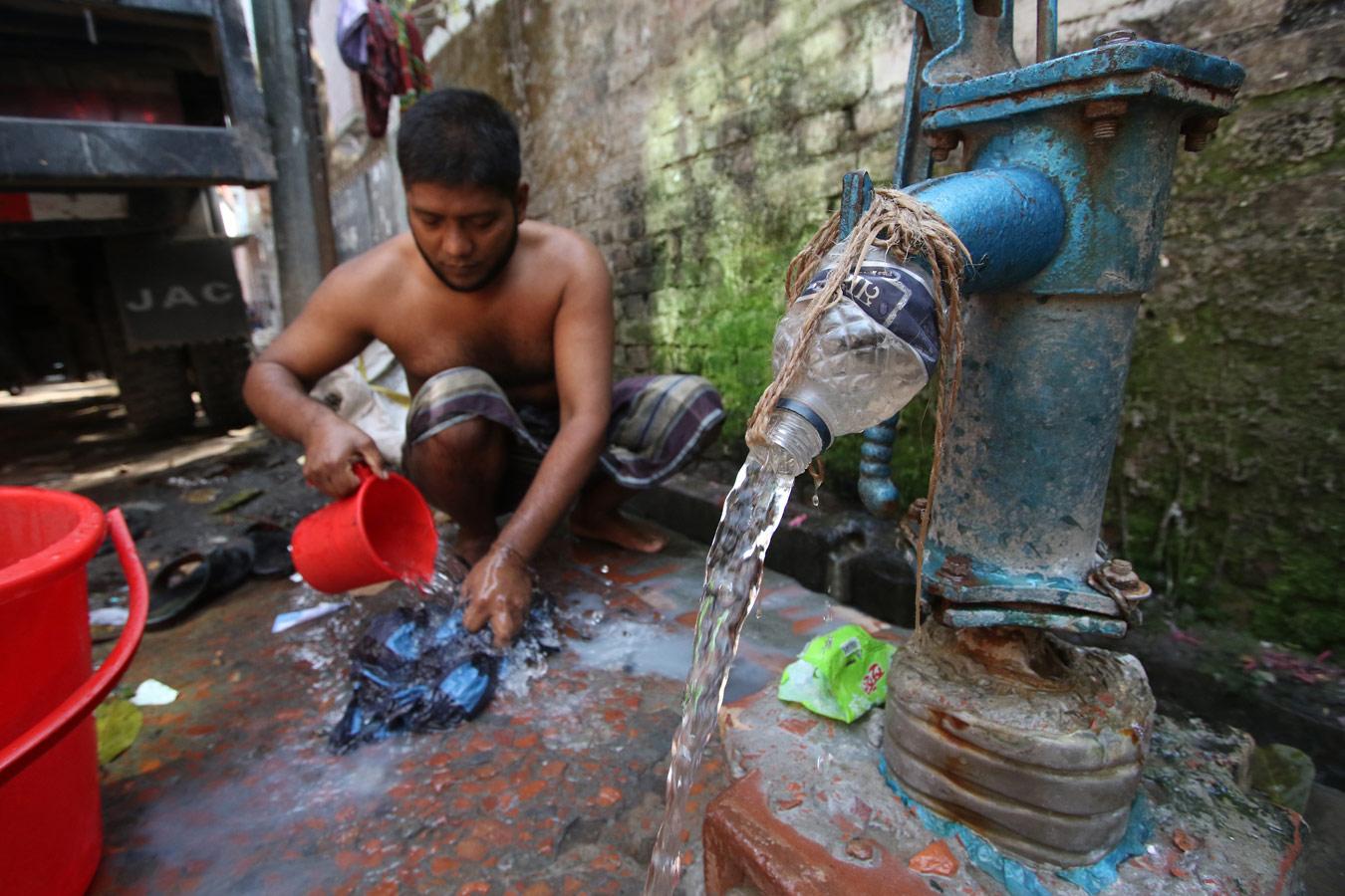 © Судепто Салам, Фотоконкурс «Гендерная и водная целостность»