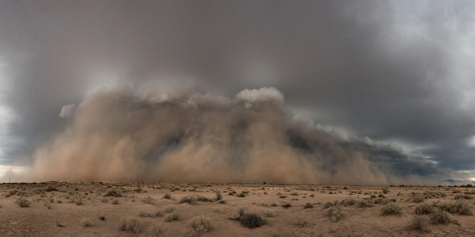 Рождение пыльной бури, © Тина Райт, Фотоконкурс «Погодный фотограф года» — Weather Photographer of the Year