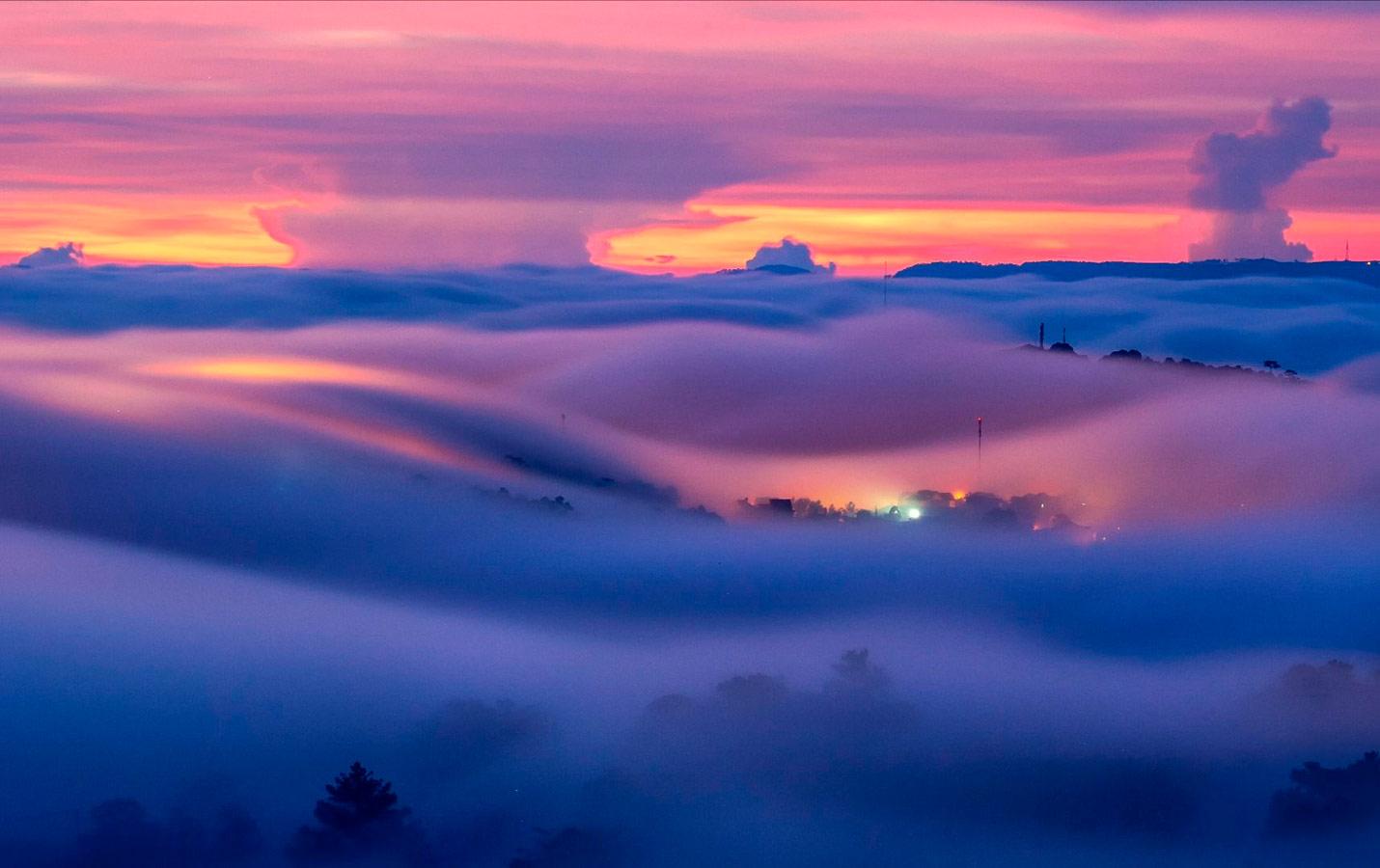 Туман–волна, © Хоанг Вьет Нгуен Фонг, Фотоконкурс «Погодный фотограф года» — Weather Photographer of the Year