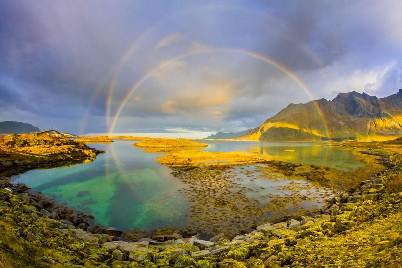 Отражение лука, © Карлос Кастильехо, Фотоконкурс «Погодный фотограф года» — Weather Photographer of the Year