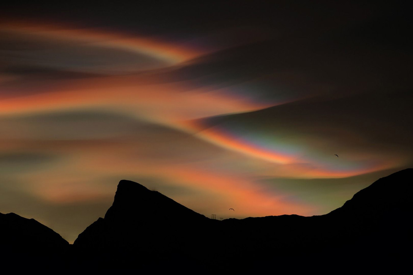 Перламутровые облака, © Бартломей Юрецкий, Фотоконкурс «Погодный фотограф года» — Weather Photographer of the Year