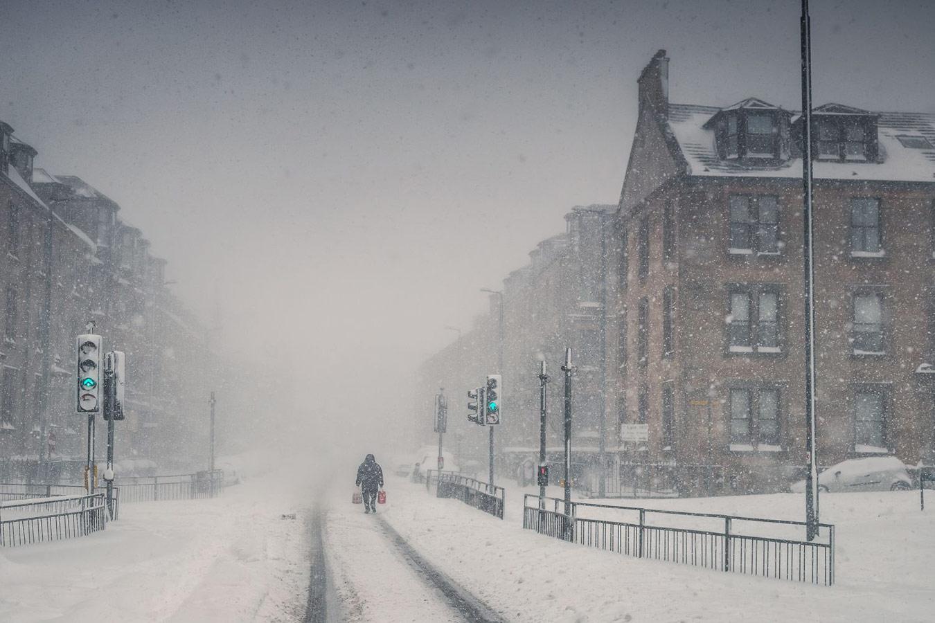 Депеша, © Нил Барр, Фотоконкурс «Погодный фотограф года» — Weather Photographer of the Year