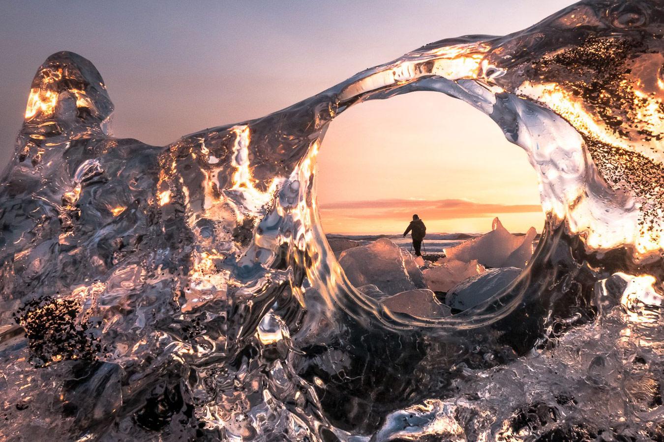 Ледяной фотограф, © Евгений Самученко, Фотоконкурс «Погодный фотограф года» — Weather Photographer of the Year