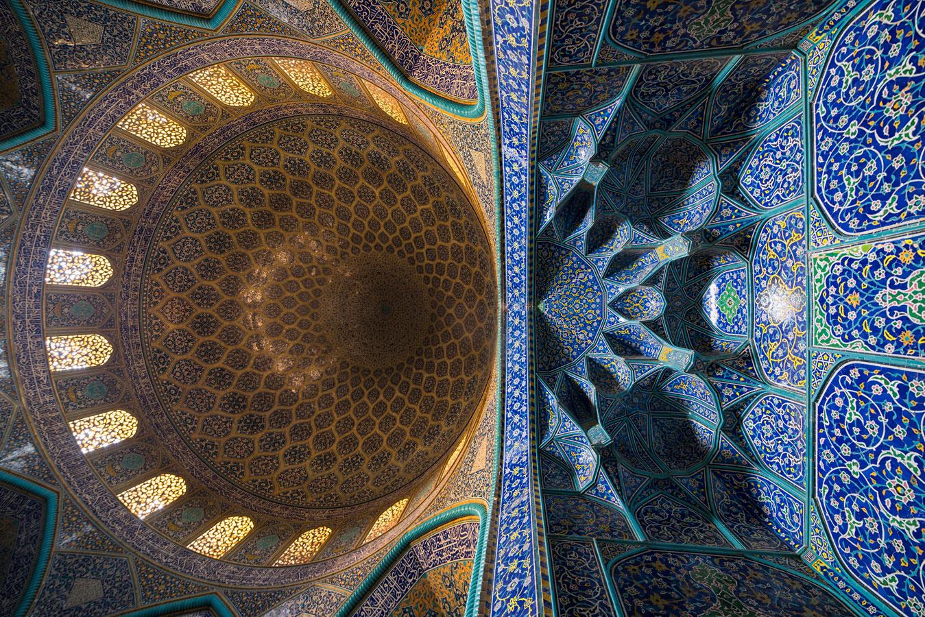 Мечеть шейха Лотфоллаха, Иран, © Алиреза Ахлаги, 1-е место, Фотоконкурс «Вики любит памятники» — Wiki Loves Monuments