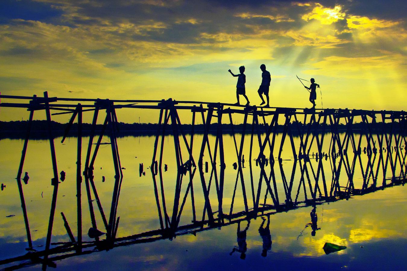 Деревянное соединение, © Роберт Антон Апаренте, Филиппины, 3-е место, Фотоконкурс «Изменения в культуре дерева» — Change in Wood Culture