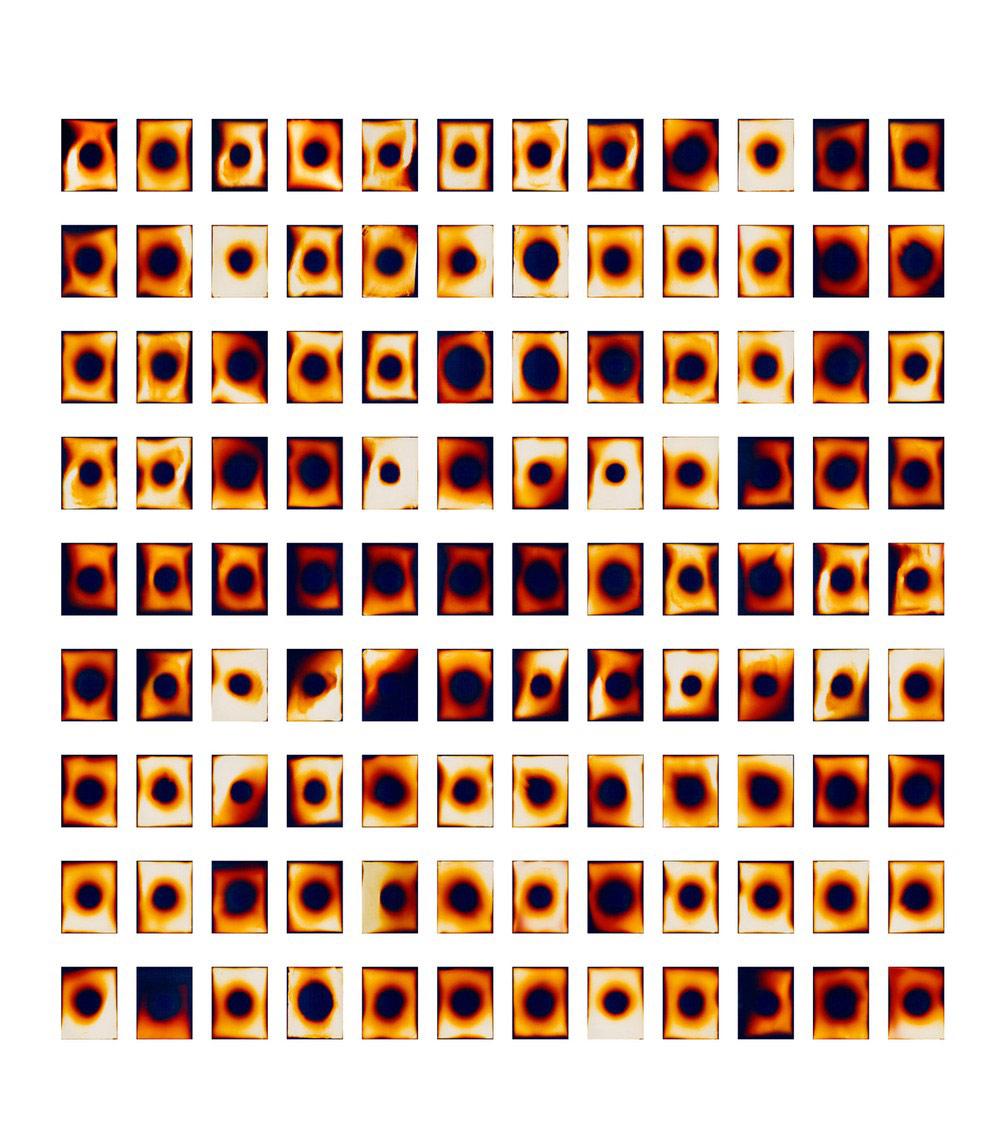 Разглядывание солнца, © Кэй Ито, Хромогенные цветные отпечатки, сделанные прямым солнечным светом, Фотопремия «Работающий художник» — Working Artist