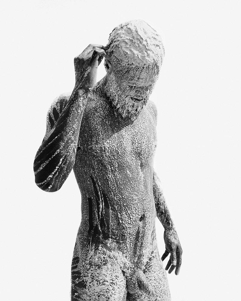 Расплав №1 (Рим), © Эстебан Шимпф, Архивная пигментная фотопечать, 44 х 55 дюймов, 2015 год, Фотопремия «Работающий художник» — Working Artist