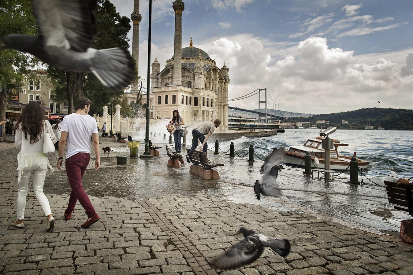 Мечеть Ортакёй, Стамбул, © Лилиана Раналетта, Рим, Италия, Финалист категории «Настроение места», любитель, Фотоконкурс экстремальных путешествий «Мир в фокусе» — World In Focus