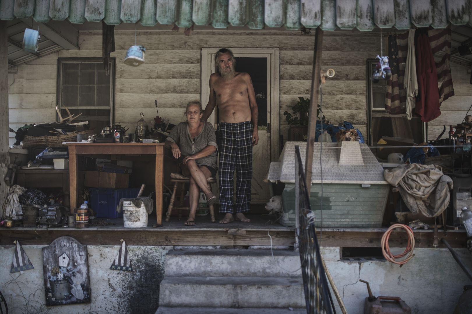 Белая ярость — США, © Эспен Расмуссен, Норвегия, 3-й приз : серия, Фотоконкурс World Press Photo