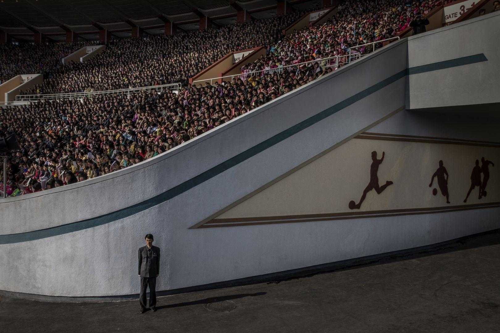 Северная Корея, © Роджер Турессон, Швеция, 3-й приз : одиночный кадр, Фотоконкурс World Press Photo