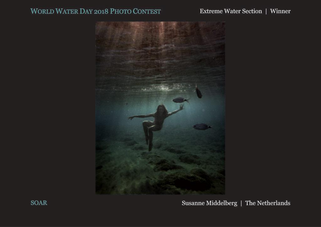 Полёт, © Сюзанна Мидделберг, Победитель раздела «Экстремальная вода», Фотоконкурс Всемирного дня воды — World Water Day