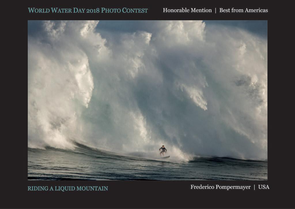 Езда на водяной горе, © Фредерико Помпермайер, Почётный приз «Лучший из Америки», Фотоконкурс Всемирного дня воды — World Water Day