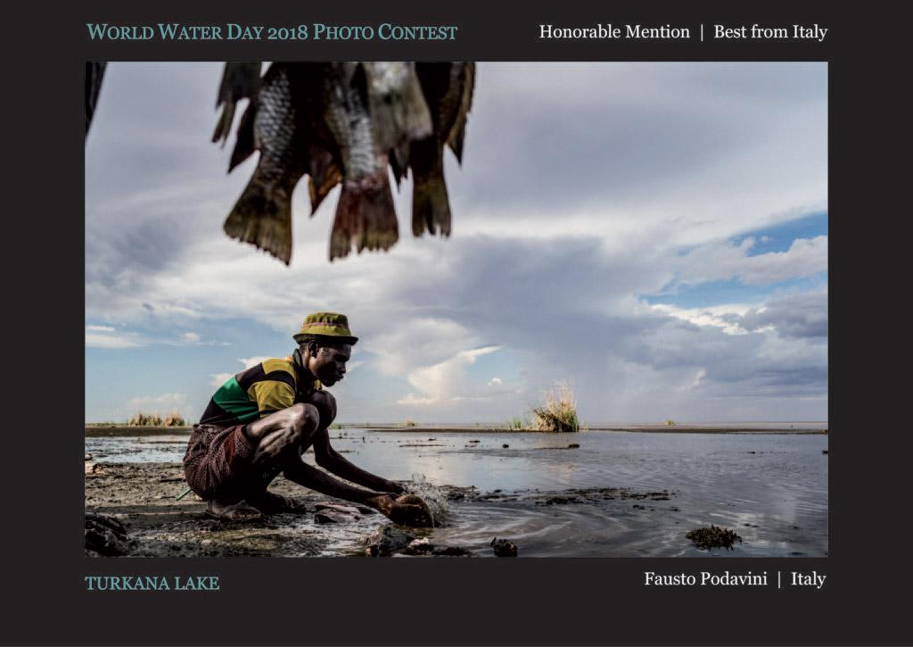 Озеро Туркана, © Фаусто Подавини, Почётный приз «Лучший из Италии», Фотоконкурс Всемирного дня воды — World Water Day